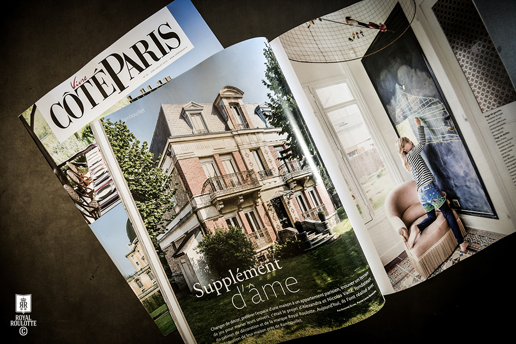 COTE PARIS MAGAZINE JUNE 2014 -★- ROYAL ROULOTTE INTERIOR DESIGN