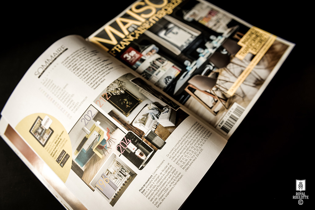 Royal roulotte d coration architecture d 39 int rieur parutions pr - Maison francaise magazine ...