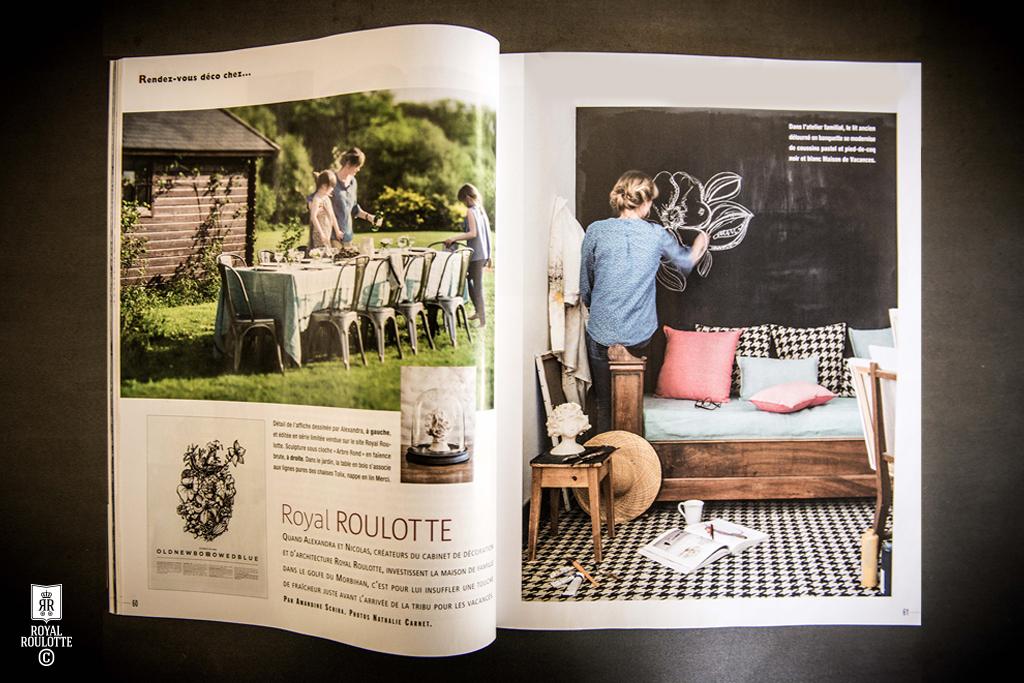 royal roulotte decoration arradon architecte interieur magazine cote ouest with roulotte decoration. Black Bedroom Furniture Sets. Home Design Ideas