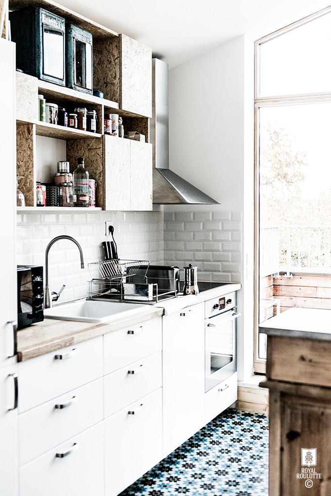 ROYAL ROULOTTE -★- MONTREUIL KITCHEN FOCUS - RENOVATION / CREATION