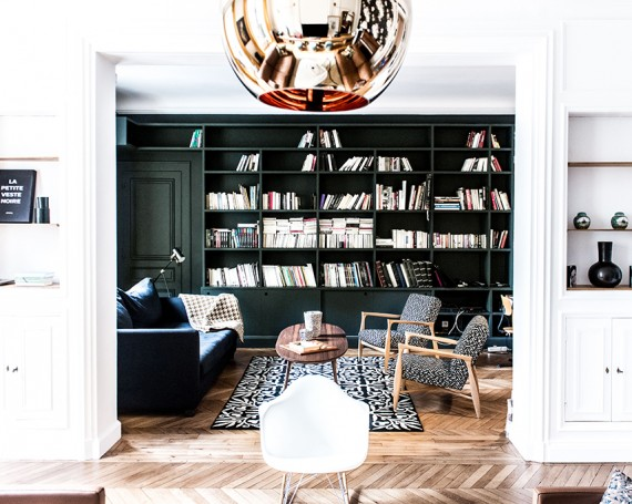 CHEZ SABRINA & QUENTIN – Paris XVI – 200 m2