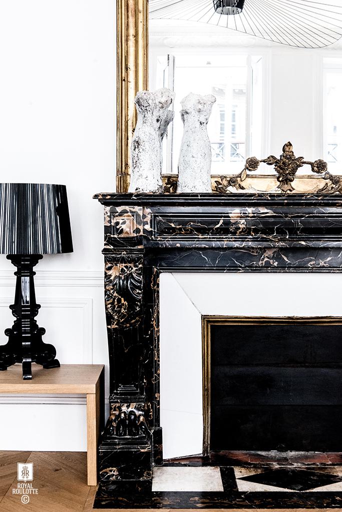 royal roulotte d coration architecture d 39 int rieur paris ix st georges blue black. Black Bedroom Furniture Sets. Home Design Ideas